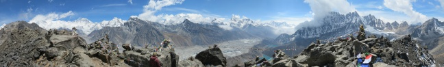 Top of the World from Gokyo Ri